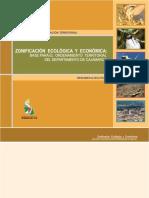 Zonificaci n Ecol Gica y Econ Mica Base Para El OT de Cajamarca