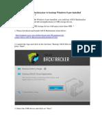 ASUS Backtracker to backup Windows 8.docx