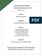 Analisis en Cuenca en Isla del Carmen