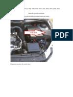 Diagrama da caixa de fusíveis Peugeot 206, Peugeot 206 sw 1998, 1999, 2000, 2001, 2002, 2003, 2004, 2005, 2006, 2007, 2008, 2009 - Cópia