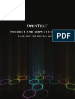 Opentext r16 Product Catalogue 2016