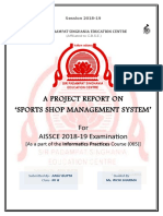 Class 12th IP Project Report