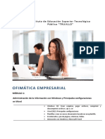 Módulo 1 - Ofimática Empresarial
