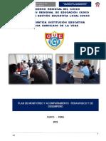5 Plan de Monitoreo y Acompañamiento Pedagógico