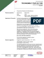 Henkel Technomelt PUR 3317 BR TDS