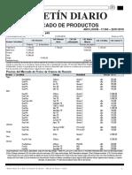 Mercado de Granos cotización Rosario