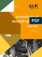 1. La Ciencia Para El Desarrollo Sostenible