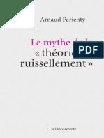 Le mythe de la theorie du ruiss - Arnaud Parienty.pdf