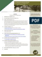 PRAB Agenda Jan 2019
