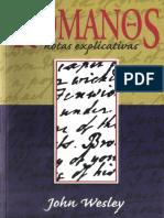 John Wesley - Comentario Romanos Notas Explicativas