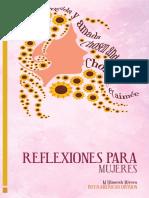 Cuadernillo de Reflexiones Escogida y Amada