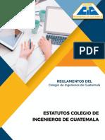 10. Estatutos Colegio De Ingenieros De Guatemala.pdf