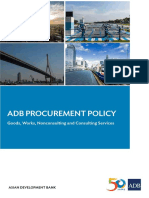 Adb Procurement Policy