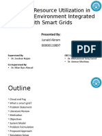 Efficient Resource Utilization in Cloud-Fog Environment Integrated With Smart Grids