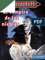 El Vampiro de Las Nieblas - Christie Golden