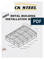 Buck Steel Metal Building Installation Manual