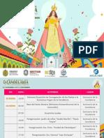 Programa FESTEJOS DE LA  Candelaria 2019