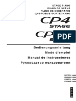 CP4 Stage Mode d'Emploi