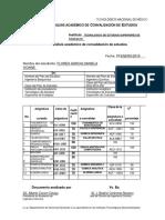 Convalidacion Flores 2019