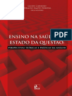 Ensino Na Saude e o Estado Da Questao - eBook
