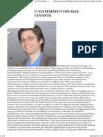 El Multiverso Matemático de Max Tegmark