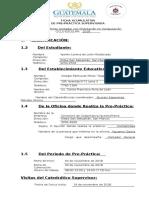 Ficha de Informacion de Practica. Contabilidad. Perito