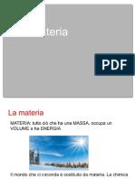 Materia Ed Energia s