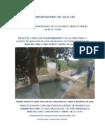 Estructuras de Aforo de Aguas de Regadio en Canales y Cauces Superficiales