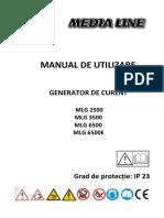 Manual de Utilizare Generatoare MLG