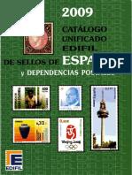 Catalogo 2009 Edifil España y Colonias