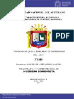 EXPORTACIÓN DE LA QUINUA