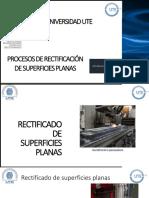 Procesos de Rectificación de Superficies Planas