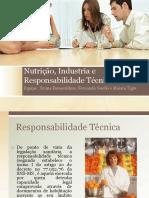 Nutrição e Industria e Responsabilidade Técnica