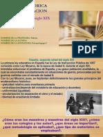 Vision Historica de La Educacion