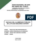 Yefer t. Sánchez Cáceres-estado Del Alumbrado Publico