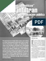 Dianeticos Infiltran Educacion Publica