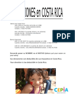 Donations CR