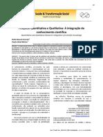 4. Pesquisa Quantitativa e Qualitativa