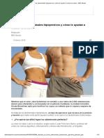 Qué son los abdominales hipopresivos y cómo te ayudan a reducir la cintura - BBC Mundo.pdf