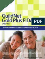 Lista de Medicamentos Cubiertos Vademécum de 2016