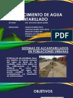 Sistemas de Alcantarillados en Poblaciones Urbanas