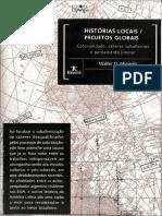 MIGNOLO, Walter D. Histórias Locais Projetos Globais - Colonialidade, Saberes Subalternos e Pensamento Liminar