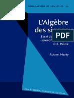 [Robert Marty] L'Algèbre Des Signes Essai de (B-ok.xyz)