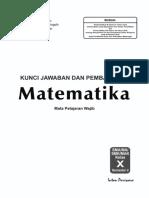 01 Kunci Matematika 10b Wajib K-13 2017