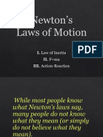 newtons laws of motion1