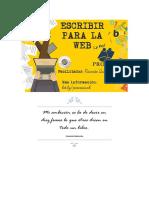 Guía para redactar para la Web
