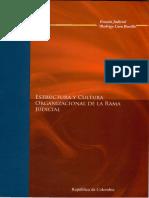 16 - Estructura Organizacional de La Rama Judicial