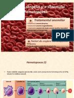 Medicatia sangelui si a sistemului hematopoietic
