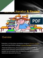 Kajian Literatur