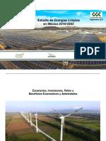 Estudio Energías Limpias México 2018 - 2032